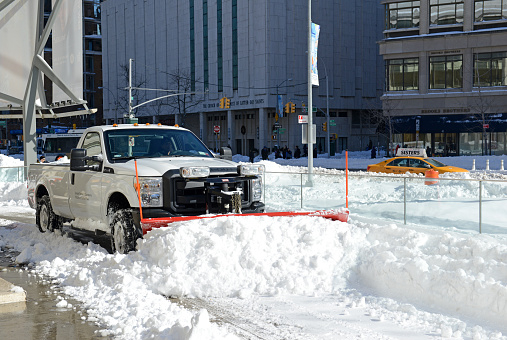 Do you need commercial snow removal? We specialize in commercial snow plowing and snow removal services.
